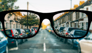 What does nearsighted mean?